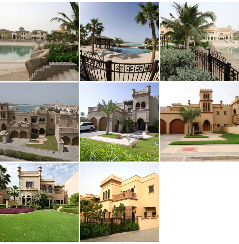 Canal Cove Dubai Picture Collage