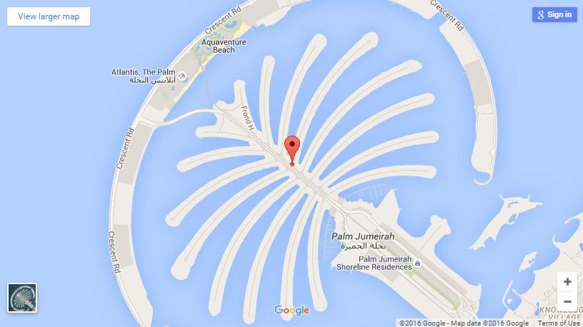 Garden Homes Dubai Map