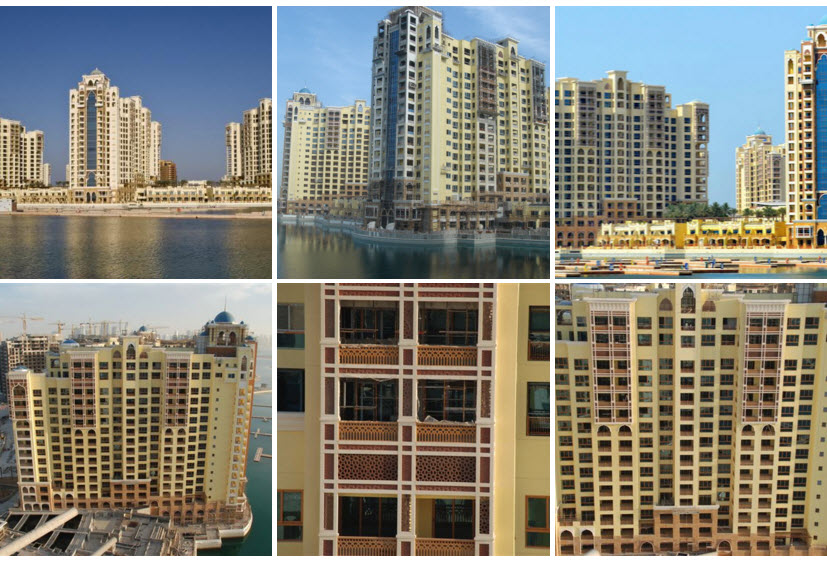 Marina Residences Dubai Picture Collage