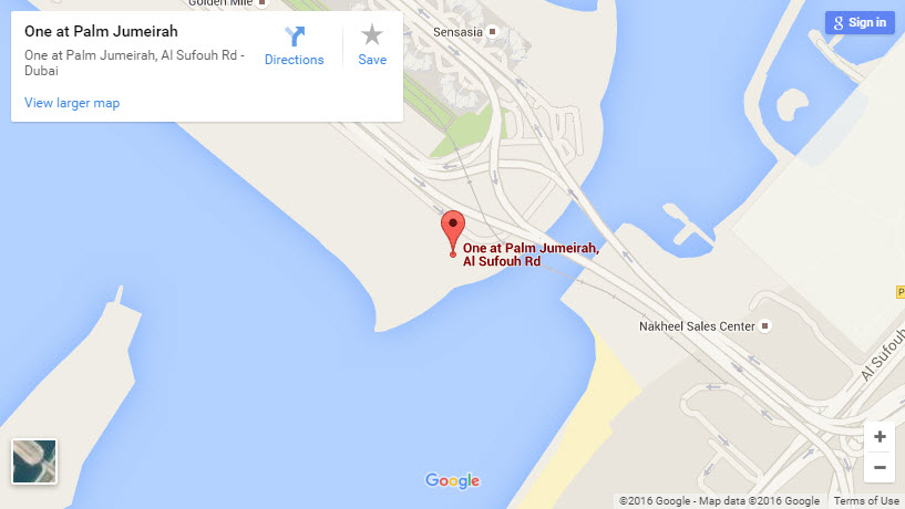 One-at-Palm-Jumeirah-location
